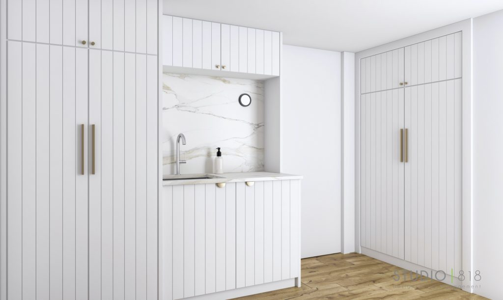 Harbor Beach design project: Client Casa Gal laundry room 01