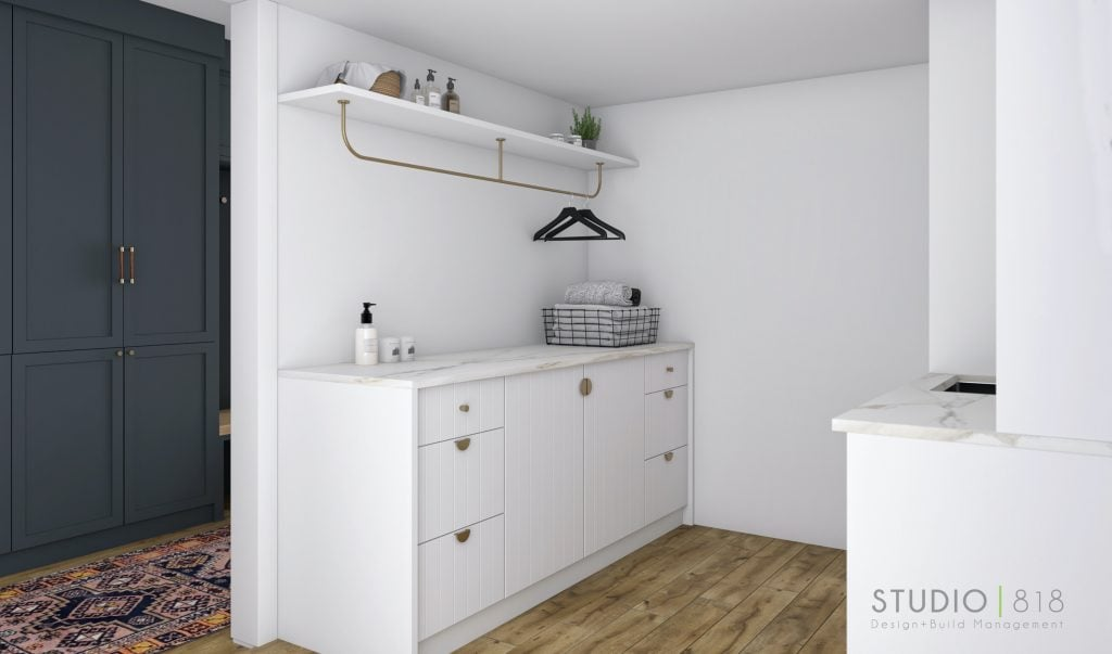 Harbor Beach design project: Client Casa Gal laundry room 02