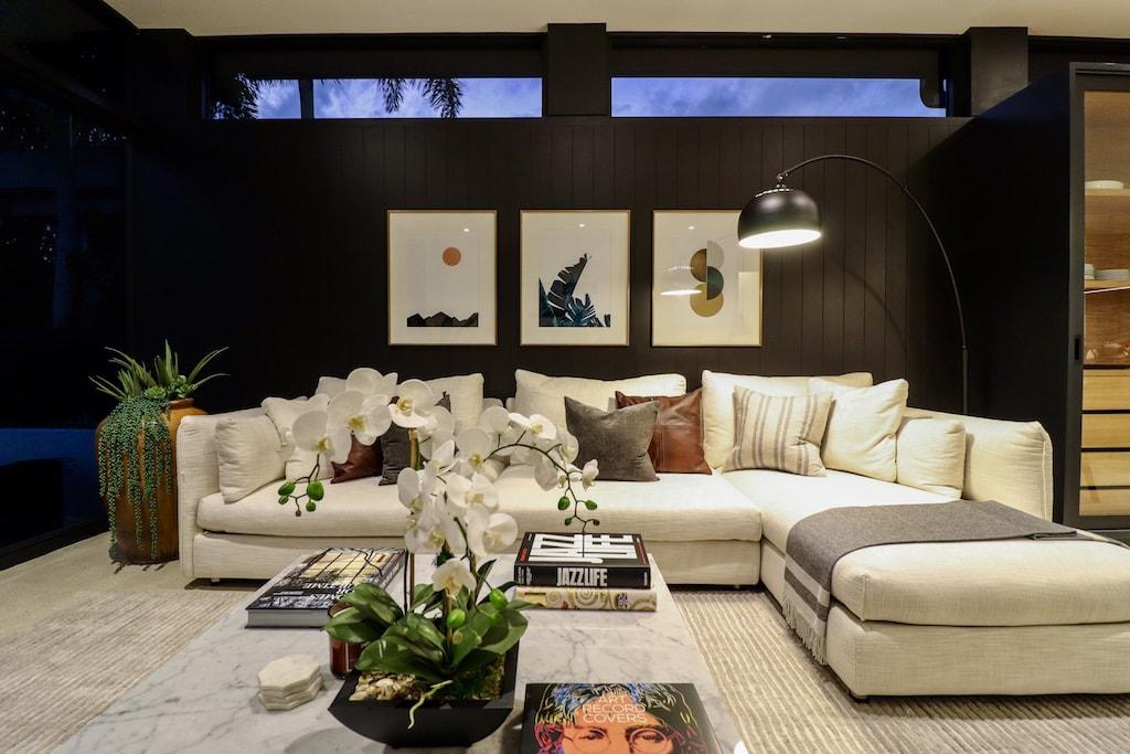 #MidMod House: Mid Century Modern living room