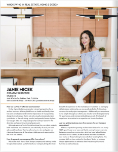Janie Micek - Who's who in home design